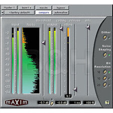 Avid Digidesign Maxim Brickwall Limiter Mastering for PRO TOOLS HD LE TDM RTAS