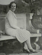 Princess Aspasia Of Greece Grey Walls Gullane 1929 Page Photo Article 7484