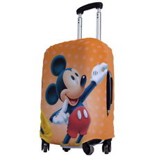 "Mickey Mouse Luggage Protector Elastic Suitcase Cover 18''- 20"" y64 w1033"