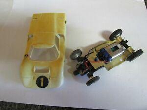 STROMBECKER 1/32 Slot Car FORD J TESTED & RUNNING