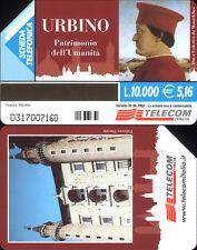 SCHEDA TELEFONICA _ URBINO - C&C 3243 GOLDEN 1155 - USATA