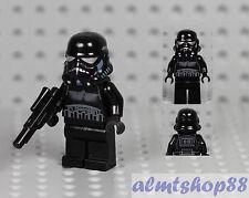 LEGO Star Wars - Shadow Trooper Minifigure w/ Blaster Gun 7664 7667 Weapon Black