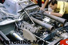 Ferrari 126 CK Turbo F1 Motor Gilles Villeneuve Scheckter 1979 Fotografía Foto