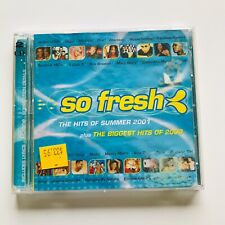 SO FRESH The hits of Summer 2001 PLUS The biggest hits of 2000 - 2 disc set