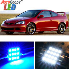 8 x Premium Blue LED Lights Interior Package Kit for Acura RSX 2002-2006 + Tool