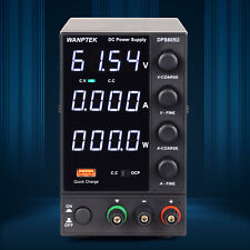 60v 5a Adjustable Dc Power Supply Precision Variable 4 Digital Lab Test 110v Us