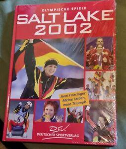"""Buch Olympische Spiele  """"Saltlake 2002""""  Neu OVP"""