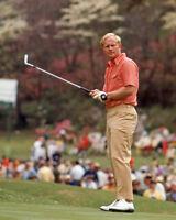 PGA American Golfer JACK NICKLAUS Glossy 8x10 Photo Golf Print Putting Poster