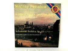 LP Murray Perahia  Schubert/Schumann Piano Sonatas CBS M 44596