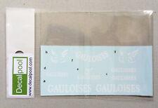 1/12 Yamaha YZR-M1 Gauloises 04~05' Option Decal for Tamiya