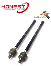 For FORD MONDEO 2000-2007 Front Inner Track Tie Rod Ends X2 Karlmann