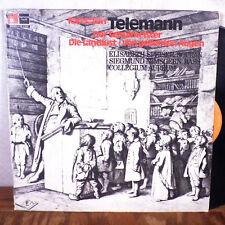 Georg Philipp Telemann Siegmund Nimsgern Elisabeth Speiser LP Harmonia Mundi EX