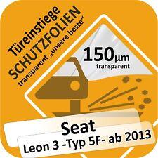SEAT LEON 3 PORTE PORTIÈRE Seuil voiture Protection Film de SOUDE U. Combi