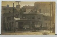 RPPC Philadelphia Pa 722 Walnut St YWCA Cafe RARE c1910 Real Photo POSTCARD M8