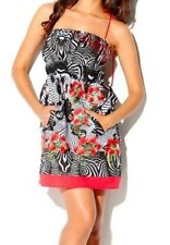 $129 NWT Desigual MELISSAY Cirque Du Soleil 100% Cotton Dress Size 42