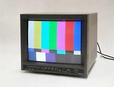 "JVC TM-H150CG 15"" High Resolution CRT Retro Gaming Monitor NTSC PAL 750TVL SDI"