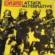 "THE EXPLOITED 7"" ATTACK / ALTERNATIVE"