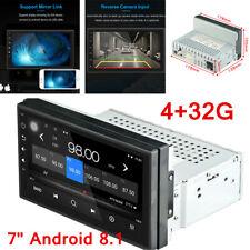 "1Din 7"" 1080P Android 8.1 Car Stereo Radio Navi GPS BT Wifi 3G/4G RDS 4+32G"
