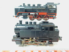 AV257-2# 2x Fleischmann H0/DC Bastler-Dampflokomotive: 24 001/1350 + 1320/90 152