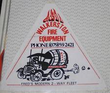 Retro Sticker - Walkerston Fire Equipment