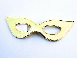 Kate Spade New York Two of a Kind Gold Mask Bottle Opener Gift Box