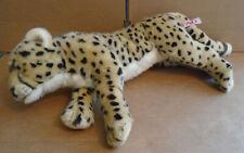 "Toys R Us FAO Schwarz Cheetah Leopard Plush 30"" Jungle Cat sa"