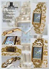 Ladies Jacques of Abdullah Watch of Swiss Made 10 Micron with Nacre Dial jl-765