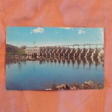 Vintage Postcard Catawba River Hydroelectric Plant, Great Falls, S.C.