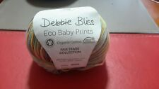 Debbie Bliss Eco Baby Print Organic Fair Trade 6x 50g Meadow Cotton wool yarn