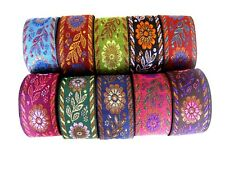 Borte in verschiedenen Farben, lfm, ca.40mm breit  B 266.2