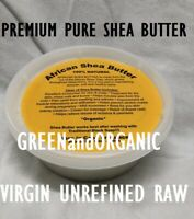 BEST 8oz Organic African Shea Butter Ivory Raw From GHANA Natural UNREFINED Pure