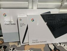 """Google Pixel Slate 12.3"""" Tablet 64GB SSD Keyboard & Pen Bundle!!!"""
