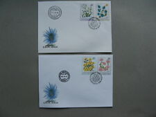 HUNGARY, 2x cover FDC 1994, flowers
