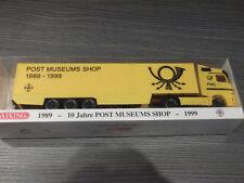 "Wiking 81-04/99 ""Mercedes-Benz Actros Koffer-Sattelzug / Post-Museums Shop"" OVP"
