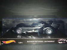 Hot Wheels Batmobile 1989 Movies Series 1/24