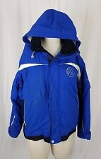 Rossignol Skiwear Winter Parka Ski Snowboard Jacket Womens 14 Zip Off Sleeves