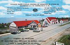 Auberge Du Faubourg St. Jean Port-Joli Quebec QC Motel AAA Unused Postcard E14