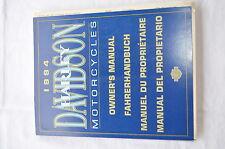 Fahrerhandbuch Harley Davidson 1994 für  Touring