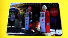 Wall Decor Home Garage Metal Tin Gas Pump SIGN Plaque (Old GAS PUMPS Mobil gas)