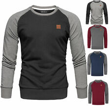 Herren Basic College Sweatjacke Pullover Hoodie Sweatshirt R5040