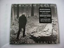 GRAHAM NASH - THIS PATH TONIGHT - CD+DVD NEW SEALED 2016