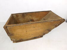 Primitive Artifact Antique Wood Grain Measure Scoop Bucket Tool Farm Country