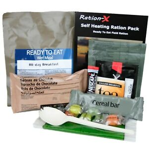 Ration-X Self Heating Field Ration Pack MRE Menu A