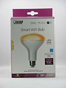 NEW Feit 65W Smart Wifi Light Bulb works w/ Alexa Soft White