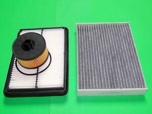 Ölfilter Luftfilter Aktivkohle Pollenfilter Nissan Qashqai 2 1.2 Benziner 85kW
