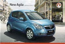Vauxhall Agila 2008-09 UK Market Sales Brochure Expression Club Design 1.0 1.2
