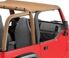 1997-2006 Jeep Wrangler & Unlimited Bikini Bimini Top Spice Tan