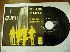 "I GUFI""E MI LA DONA BIUNDA-disco 45 giri COLUMBIA 1965"" CABARET"