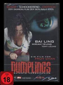 DVD DUMPLINGS - DELIKATE VERSUCHUNG - FSK 18 - BIZARR - SCHOCKIEREND - EROTISCH