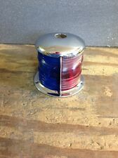 Antique Boat Bow Light Chrome Plated May 14'